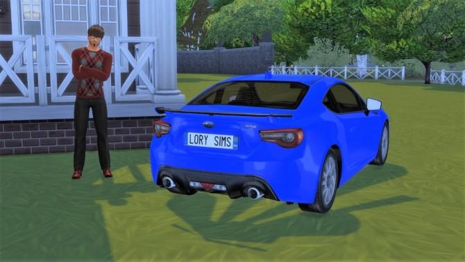Subaru BRZ at LorySims image 1331 670x377 Sims 4 Updates