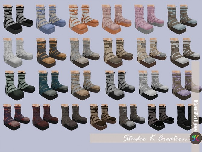 Short boots N5 at Studio K Creation image 1334 670x502 Sims 4 Updates