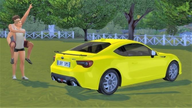 Subaru BRZ at LorySims image 1341 670x377 Sims 4 Updates