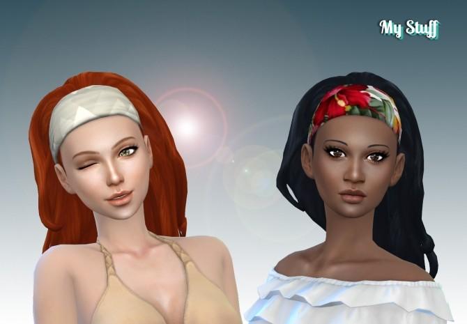 Long Wavy Bandana at My Stuff image 1351 670x465 Sims 4 Updates