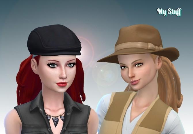 Long Wavy Bandana at My Stuff image 1361 670x465 Sims 4 Updates