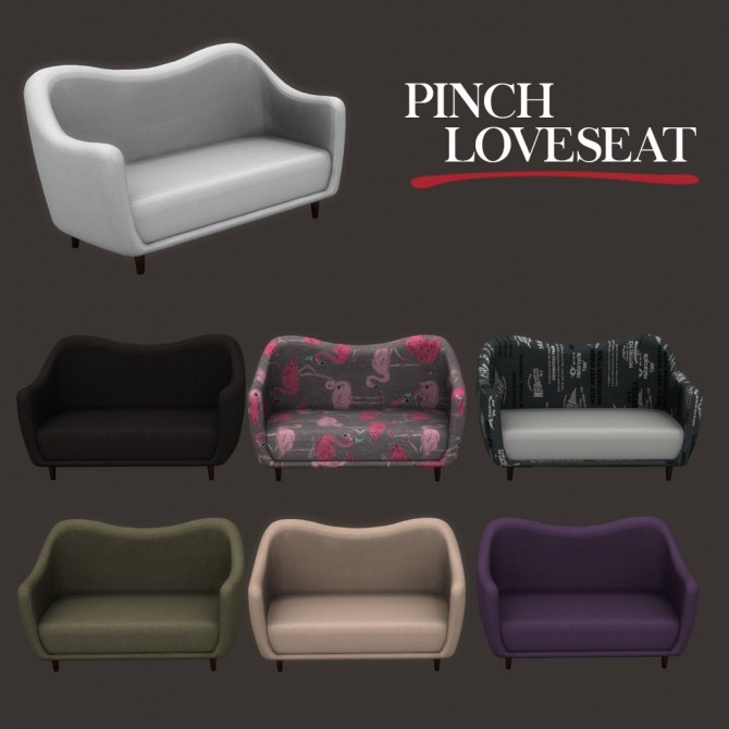 Pinch Loveseat at Leo Sims image 1365 670x670 Sims 4 Updates
