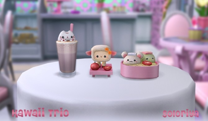 Kawaii Trio clutter (P) at Soloriya image 1367 670x392 Sims 4 Updates
