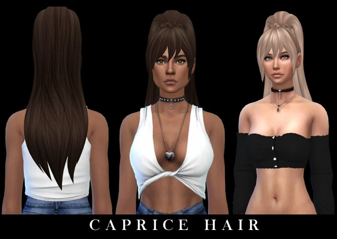 Caprice Hair (P) at Leo Sims image 1375 670x476 Sims 4 Updates