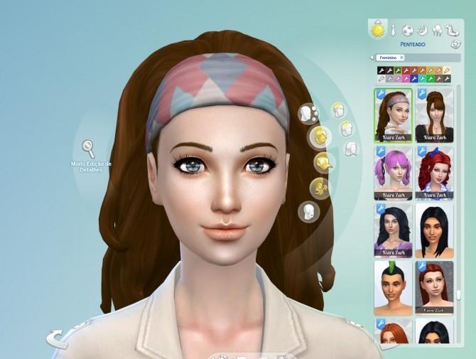 Long Wavy Bandana at My Stuff image 1381 670x505 Sims 4 Updates
