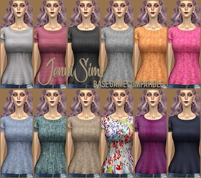 Blouse Spring Kiss at Jenni Sims image 14210 Sims 4 Updates