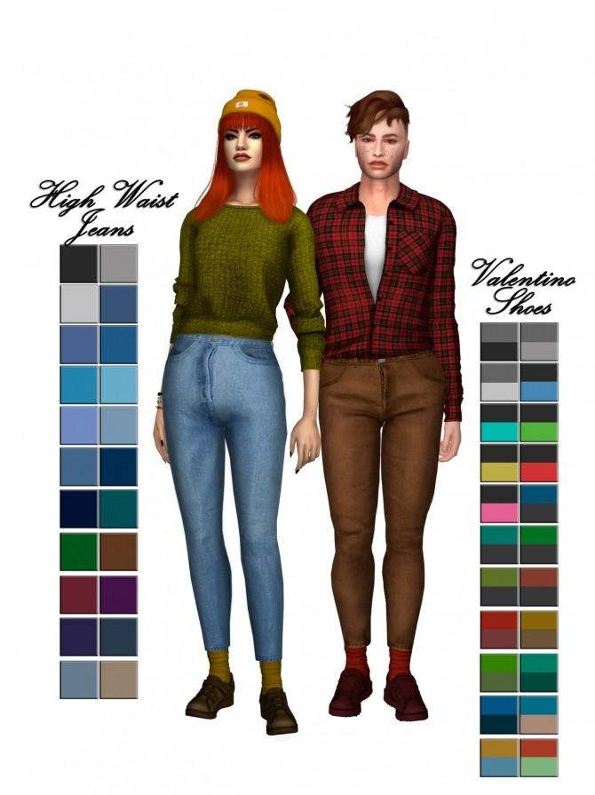 Sims 4 Semller & Hiemal Collection Pt3 Conversion at Astya96