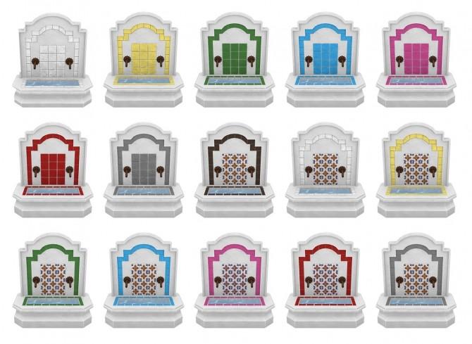 Sims 4 Fiesta Recolours Jungle Adventure Build Set at SimPlistic