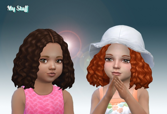 Joanne Hair For Toddlers At My Stuff 187 Sims 4 Updates