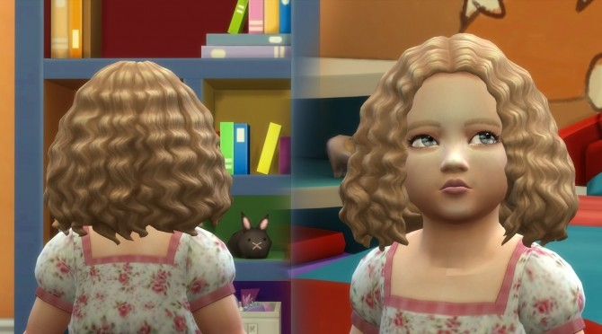 Sims 4 Joanne Hair for Toddlers at My Stuff