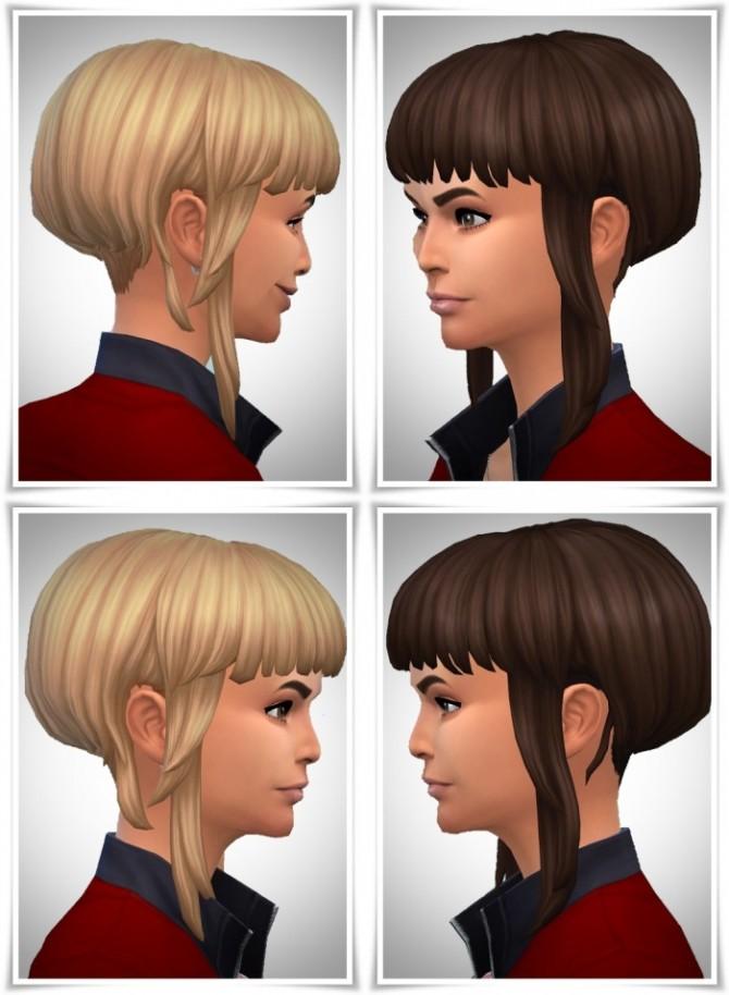 Sims 4 Creative Bangs hair F at Birksches Sims Blog