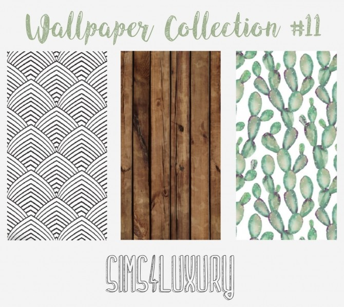 Wallpaper Collection #11 at Sims4 Luxury image 1493 670x598 Sims 4 Updates