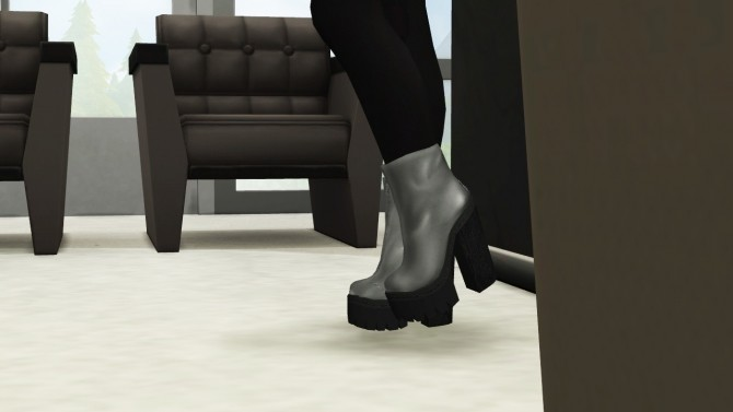 LEAH LILLITH MULDER PLATAFORM BOOTS at REDHEADSIMS – Coupure Electrique image 1494 670x377 Sims 4 Updates