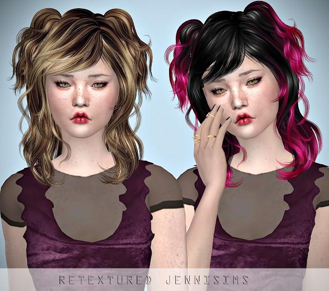 Sims 4 Newsea Chihuahua Hair retexture at Jenni Sims