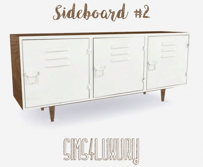 Sideboard #2 at Sims4 Luxury image 1503 670x552 Sims 4 Updates