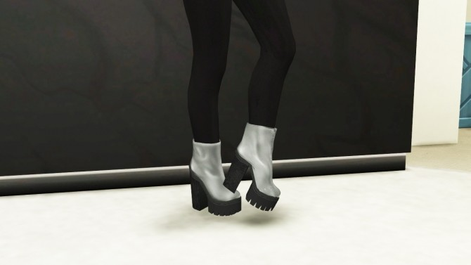 LEAH LILLITH MULDER PLATAFORM BOOTS at REDHEADSIMS – Coupure Electrique image 1504 670x377 Sims 4 Updates