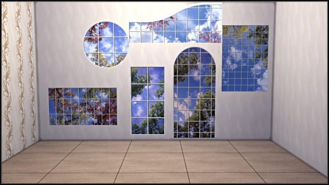Fake windows wall decals at TaTschu`s Sims4 CC image 15115 670x377 Sims 4 Updates
