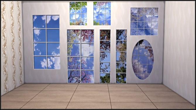 Fake windows wall decals at TaTschu`s Sims4 CC image 15212 670x377 Sims 4 Updates