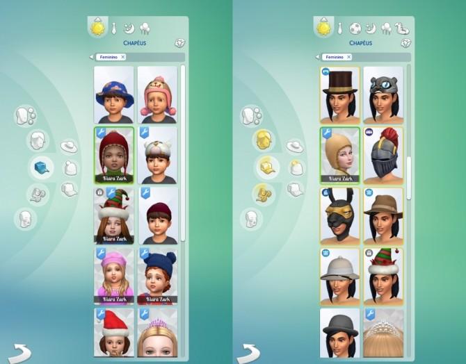 Sims 4 Chullo Conversion at My Stuff