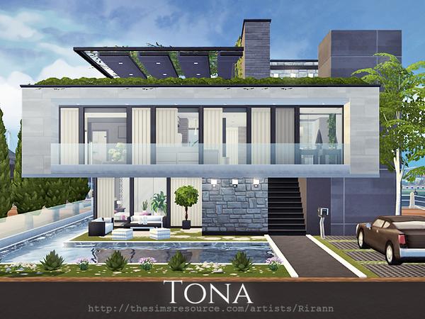 Tona house by Rirann at TSR image 1526 Sims 4 Updates