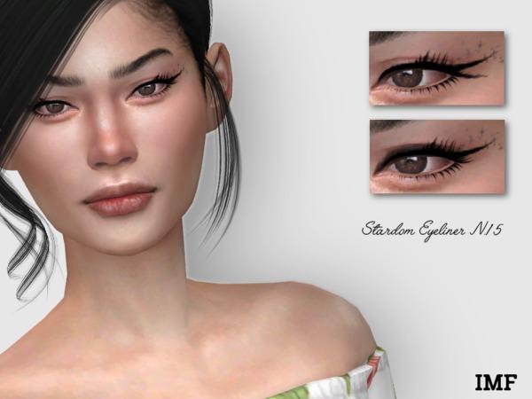 Sims 4 IMF Stardom Eyeliner N.15 by IzzieMcFire at TSR