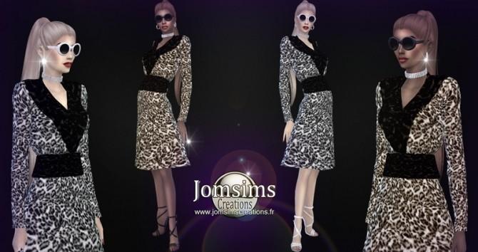 Sims 4 Caldess coat at Jomsims Creations