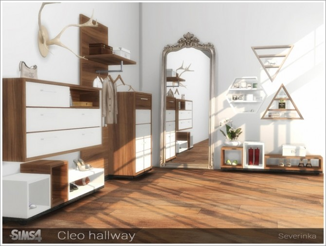 Cleo hallway furniture at Sims by Severinka image 15411 670x505 Sims 4 Updates