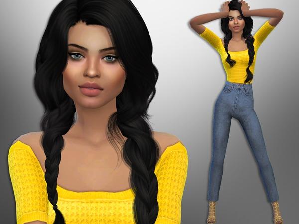 Sims 4 Blair Yanez by divaka45 at TSR
