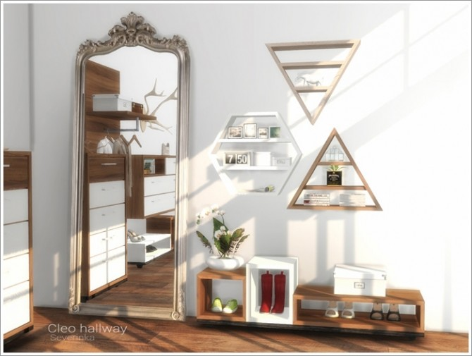 Cleo hallway furniture at Sims by Severinka image 15511 670x505 Sims 4 Updates