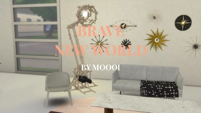 Brave New World Lamp at Meinkatz Creations image 1552 670x377 Sims 4 Updates