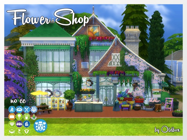 Flower Shop by Oldbox at All 4 Sims image 1579 Sims 4 Updates