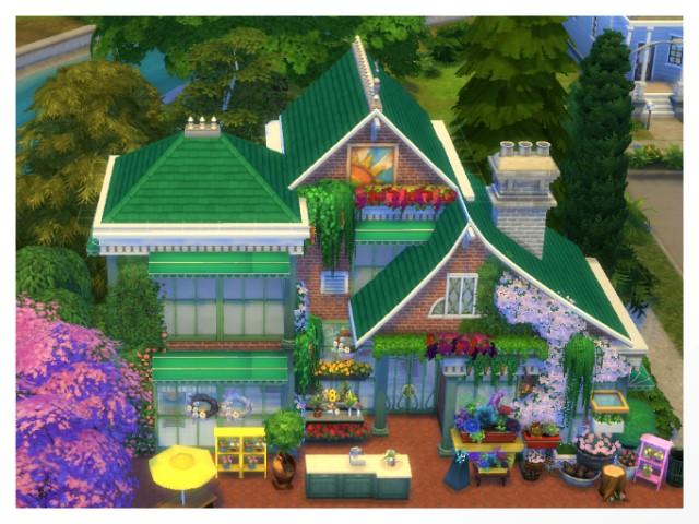 Flower Shop by Oldbox at All 4 Sims image 1588 Sims 4 Updates