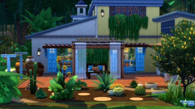 San Salvador house by chipie cyrano at L'UniverSims image 1593 670x377 Sims 4 Updates