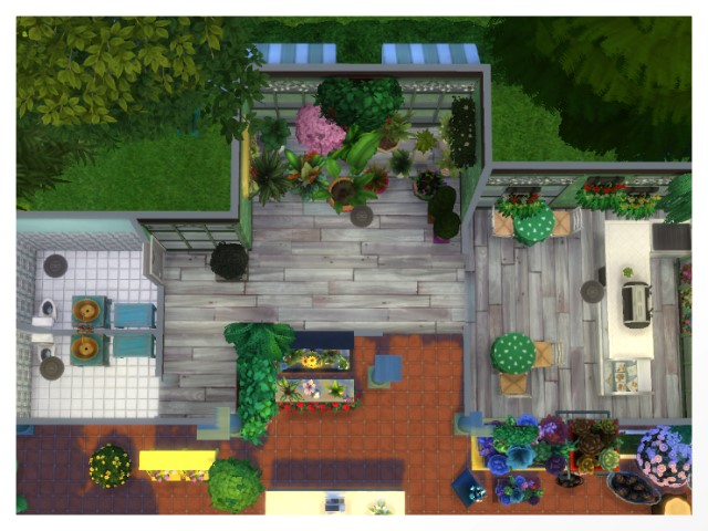 Flower Shop by Oldbox at All 4 Sims image 1598 Sims 4 Updates