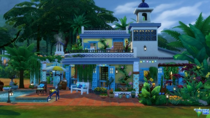 San Salvador house by chipie cyrano at L'UniverSims image 1603 670x377 Sims 4 Updates