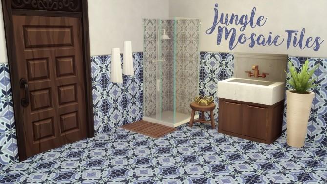 Jungle Mosaic Tiles at Hamburger Cakes image 1605 670x377 Sims 4 Updates
