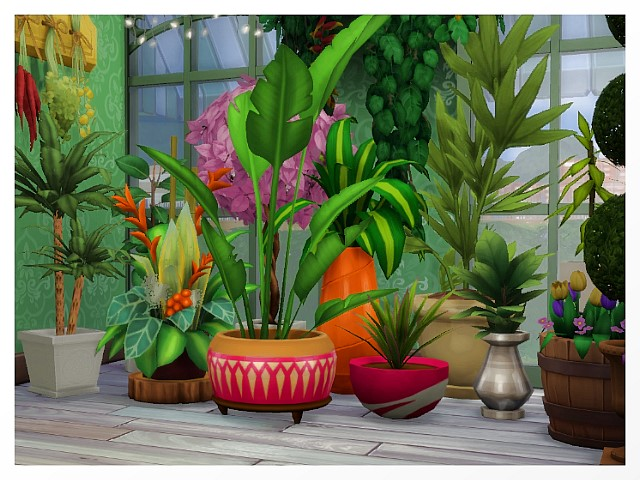 Flower Shop by Oldbox at All 4 Sims image 1608 Sims 4 Updates