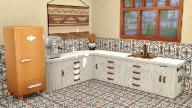 Jungle Mosaic Tiles at Hamburger Cakes image 16111 670x377 Sims 4 Updates