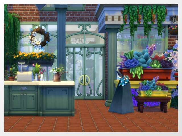 Flower Shop by Oldbox at All 4 Sims image 16114 Sims 4 Updates