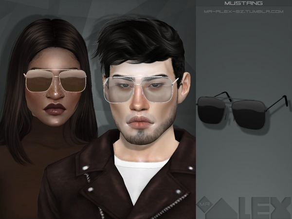 Mustang sunglasses by Mr.Alex at TSR image 1612 Sims 4 Updates