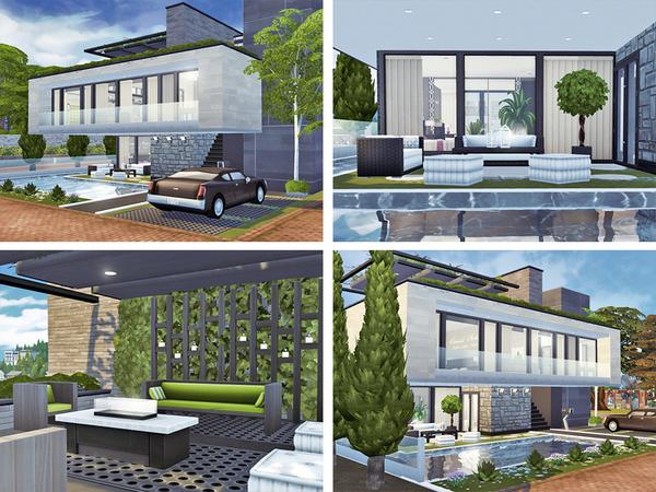 Sims 4 Tona house by Rirann at TSR