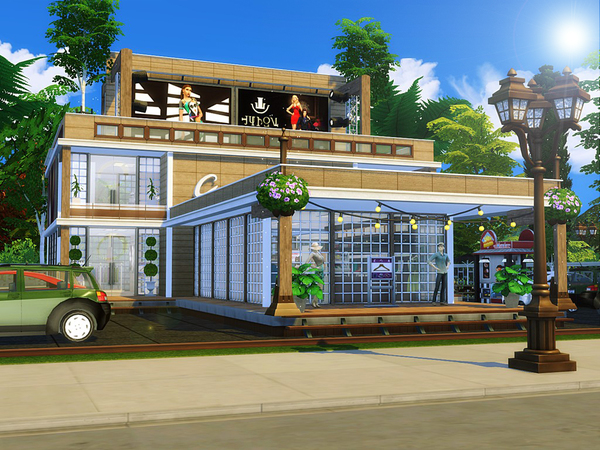 Luxury Clothes Shop by MychQQQ at TSR image 1629 Sims 4 Updates