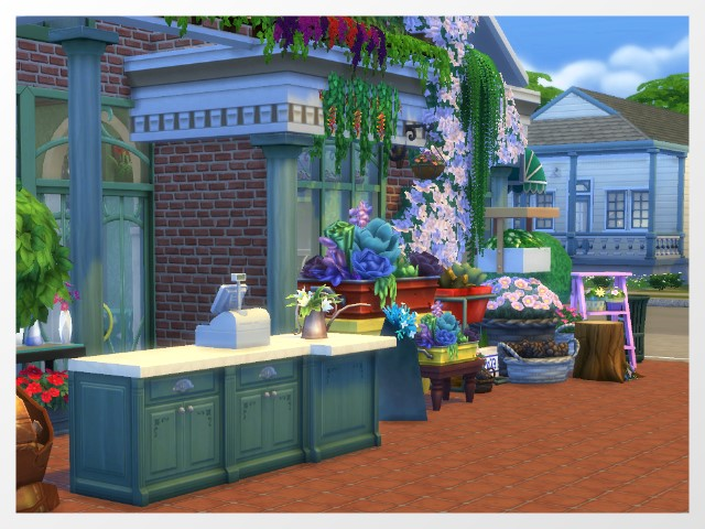 Flower Shop by Oldbox at All 4 Sims image 1639 Sims 4 Updates