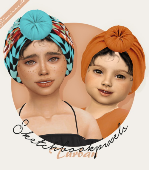Sketchbookpixels Turban 3T4 at Simiracle image 1651 Sims 4 Updates