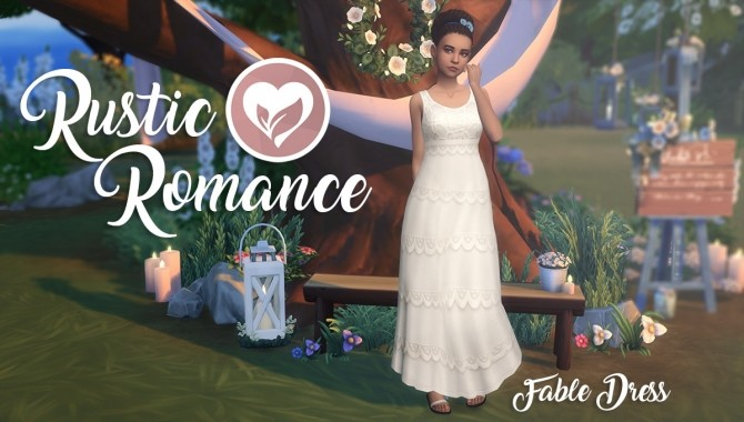 Rustic Romance Fable Dress At SimLaughLove