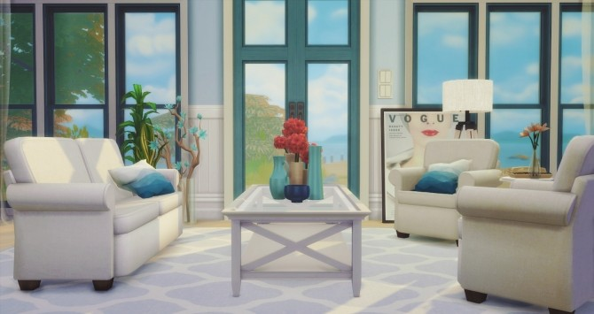 Simmons Living Seating Base Game Edited at Pyszny Design image 1684 670x355 Sims 4 Updates