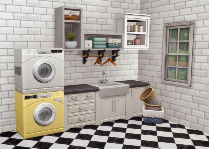 Spring Cleaning Washer & Dryer at Hamburger Cakes image 1686 670x478 Sims 4 Updates