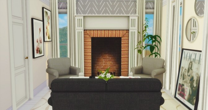 Simmons Living Seating Base Game Edited at Pyszny Design image 1693 670x355 Sims 4 Updates