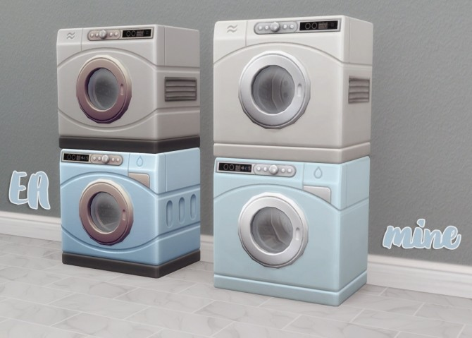 Spring Cleaning Washer & Dryer at Hamburger Cakes image 1694 670x479 Sims 4 Updates