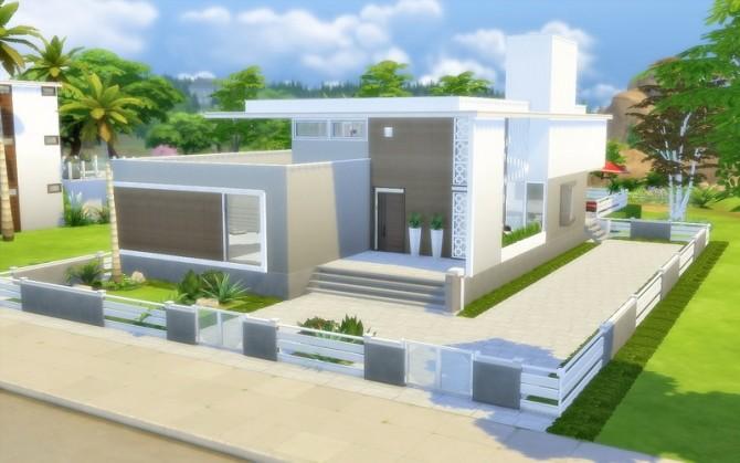 Sims 4 Contemporary House 35 at Via Sims